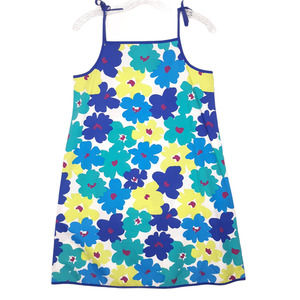Hanna Andersson Dress 10 Blue Floral Pillowcase